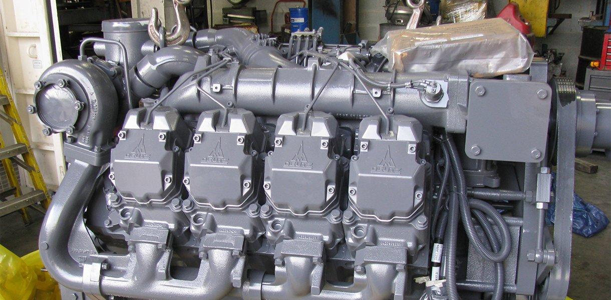 Un nuevo motor Deutz.
