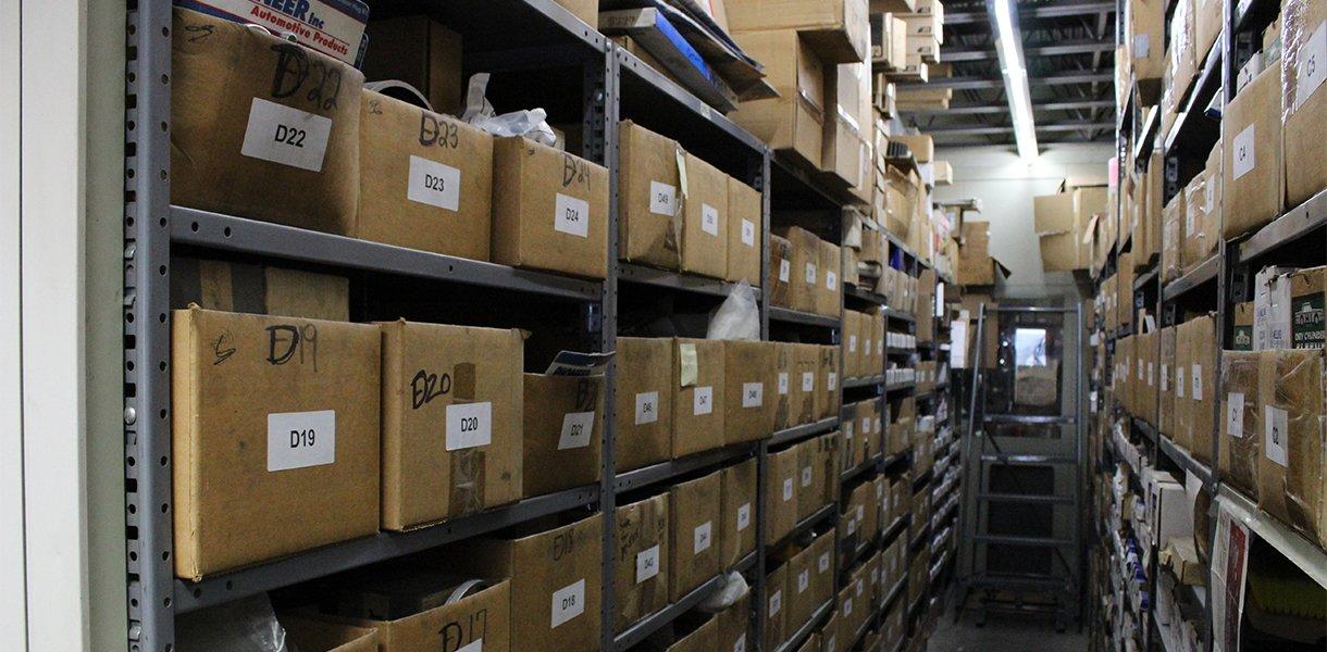 Maquinas Rutt, Inc. departamento de repuestos de máquinas completamente surtido