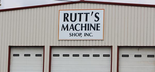 El cartel de Maquinas Rutt, Inc.